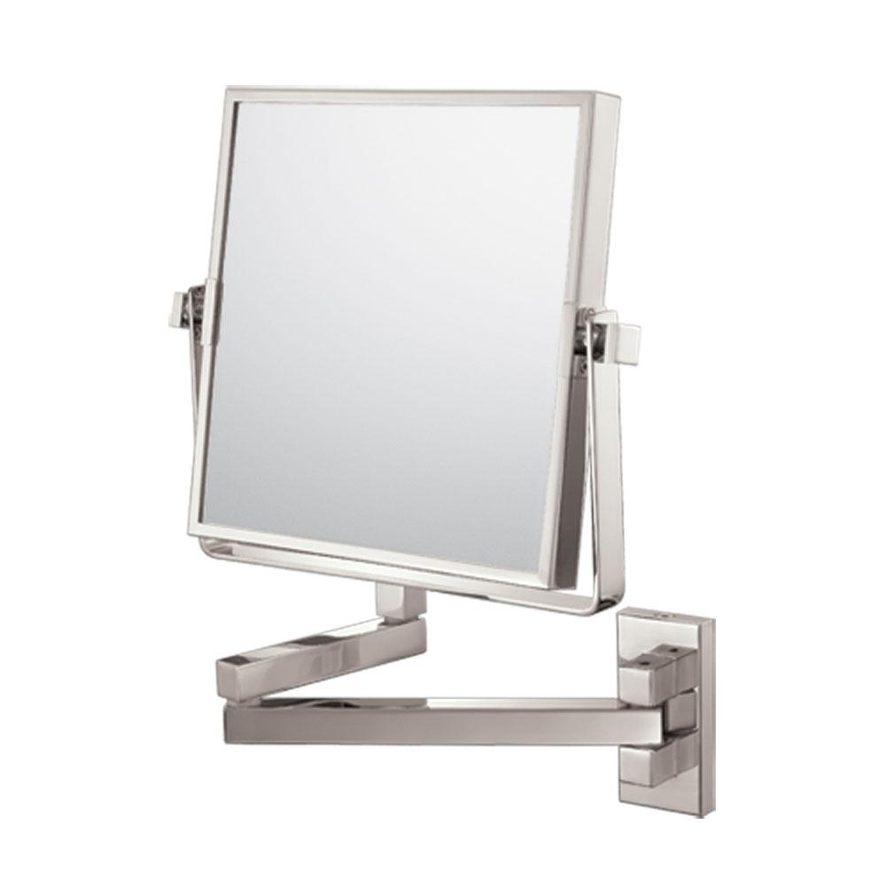 Aptations Square Double Arm Wall Mirror