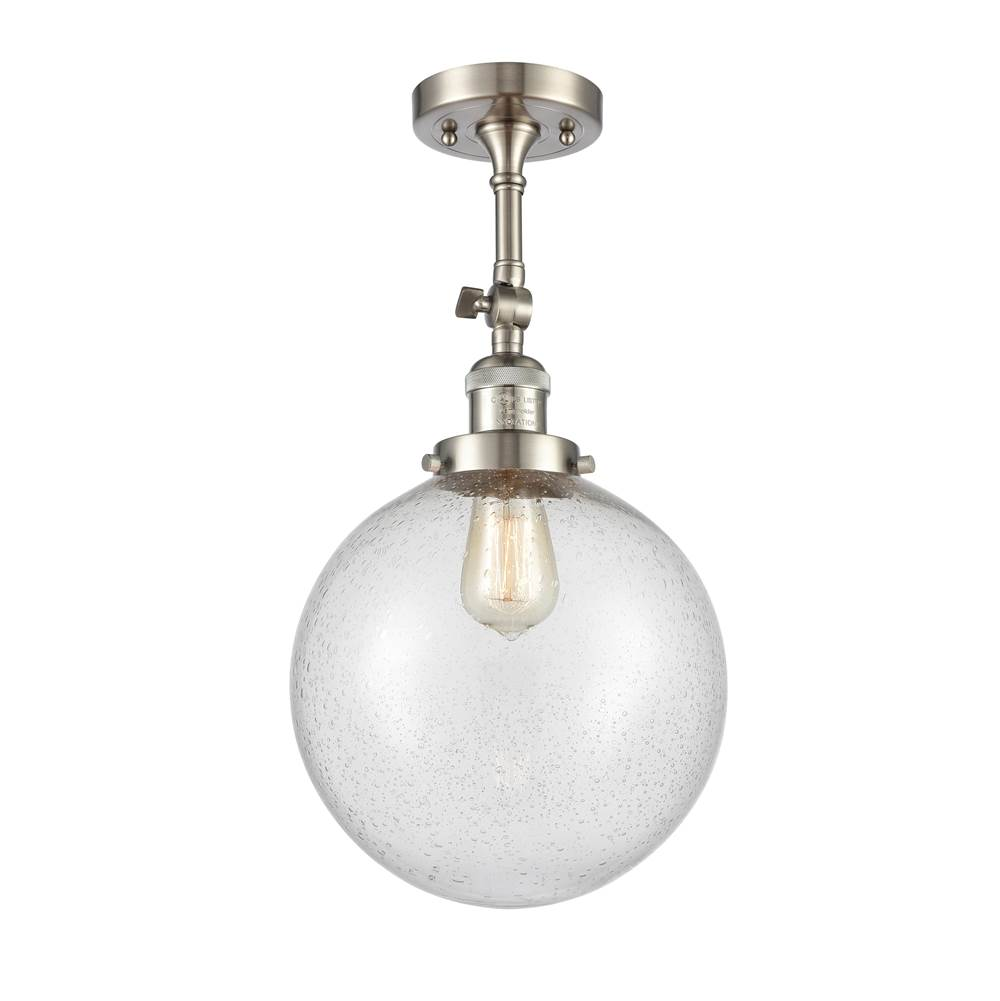 Innovations X-Large Beacon 1 Light Semi-Flush Mount part of the Franklin Restoration Collection