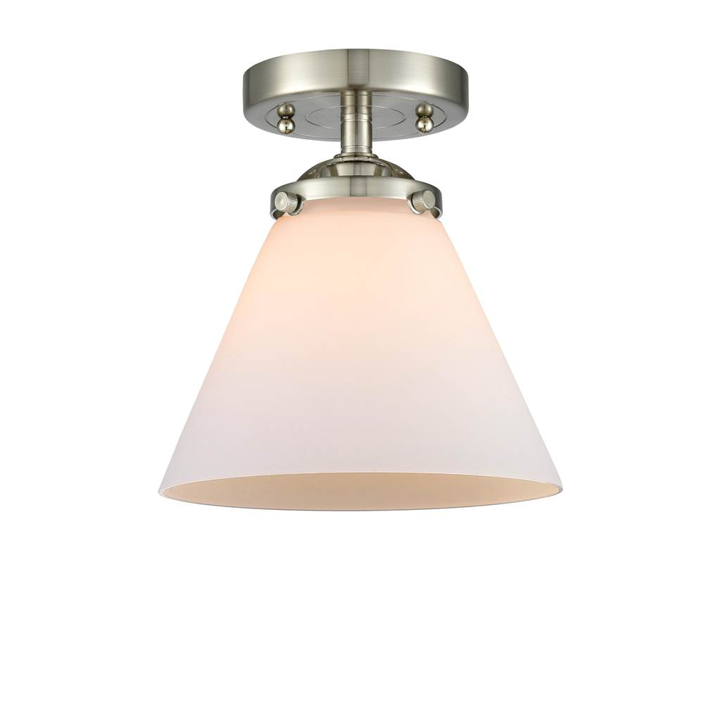 Innovations Large Cone 1 Light Semi-Flush Mount part of the Nouveau Collection