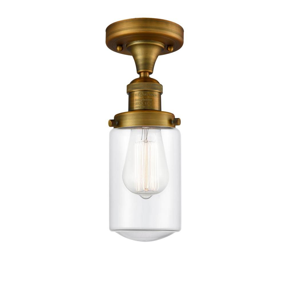 Innovations Dover 1 Light Semi-Flush Mount